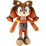 "Tomy ""Sonic Boom"" Sticks the Wild Badger plush"