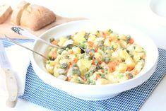 3x snelle bijgerechten voor de barbecue - Chickslovefood.com Potato Salad, Tapas, Potatoes, Gluten Free, Dinner, Ethnic Recipes, Food, Drinks, Salads