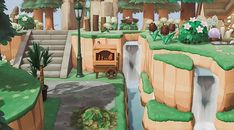 Animal Crossing Town Tune, Nintendo Switch Animal Crossing, Animal Crossing Guide, Animal Crossing Villagers, Most Beautiful Pictures, Cool Pictures, I Cannot Sleep, Waterfall Features, All Nature
