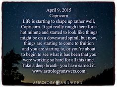 The Astrology Answers Daily Horoscope for Thursday, April 9, 2015 #astrology