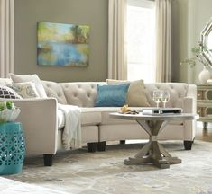 Curved Living Room Couches 27