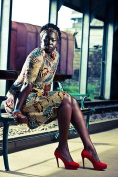 african print fashion, Kenyan designer Kiko Romeo