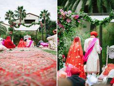 Fun + Eclectic Indian Wedding: Aman + Sonu | Green Wedding Shoes Wedding Blog | Wedding Trends for Stylish + Creative Brides