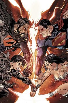 Superman & Wonder Woman by Charles Soule, Tony S Daniel, & Batt