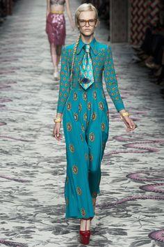 Gucci Spring 2016 Ready-to-Wear Fashion Show - Eva Minaeva