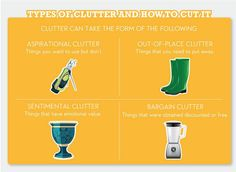 Cleaning - How to cut your clutter