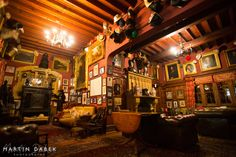 Maunsel House - The Library
