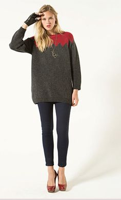 maxi suéter levys