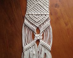 Home Decorative Modern Macrame Wall Hanging by Mrcolmar on Etsy