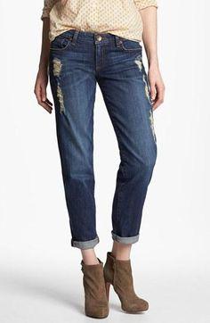 All about boyfriend jeans.
