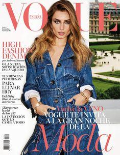 Andreea Diaconu recibe al otoño en la portada de #VogueSeptiembre