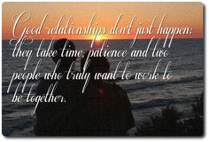 good marriages dont just happen marriage message