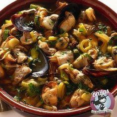 Cocina – Recetas y Consejos Tapas Recipes, Seafood Recipes, Mexican Food Recipes, Great Recipes, Favorite Recipes, Ethnic Recipes, Spanish Cuisine, Spanish Food, Gastronomia