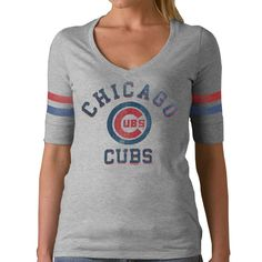 Chicago Cubs women's tee