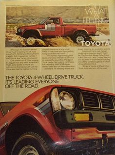 1980 TOYOTA 4-WHEEL DRIVE PICKUP http://rankmymedia.com/  Wish there were simple,economical small 4x4 pickups available today....