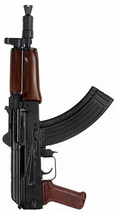 AKS-74U(AKC-74Y) 5.45×39mm or 7.62x39mm
