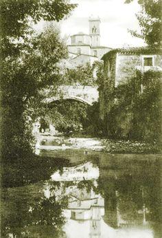 Anni 30 - Il ponte delle Birarelle Pergola, Painting, Art, Italia, Branding, Craft Art, Outdoor Pergola, Paintings, Kunst