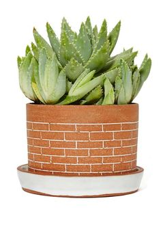 Recreation Center Brick Planter
