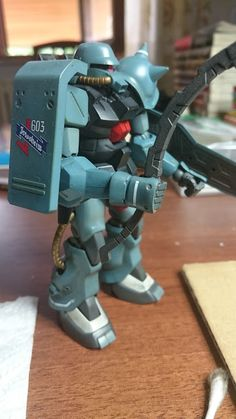 Gunpla on the Freezer: HG Zeon Unknown Soldier (Ral's Special forces) - CUSTOM BUILD + WEATHERING