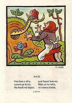 Illustration from Lada's 'Detem'   josef lada. detem. book. …   Flickr