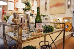 Stainless steels and rustic pieces from @kelloggfurn