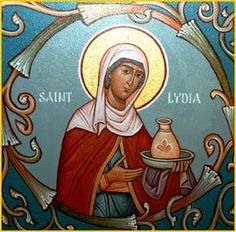 Information on the lives of many Orthodox Christian saints commemorated during the liturgical year with icons pertaining to that saint or feastday. Santa Lidia, Lives Of The Saints, Lenten Season, Catholic News, Pentecost, Orthodox Christianity, 1st Century, The Monks, Orthodox Icons