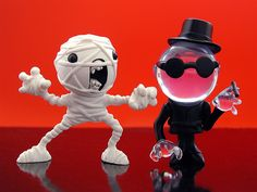 killer panda, sd toys monster theater figures: mummy, the invisible | Flickr - Photo Sharing!
