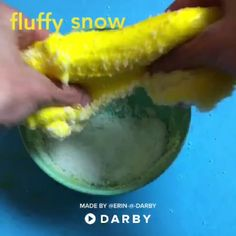 How to make yellow cloud slime