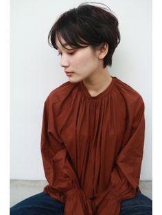 ナヌーク シブヤ(nanuk shibuya)【nanuk】柔らかい質感と束感のショートヘア◇モードなショート