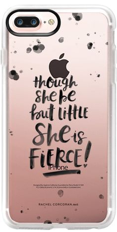 Casetify Protective iPhone 7 Plus Case and iPhone 7 Cases. Other Quotes iPhone Covers - Typography Black Hand Lettering by Rachel Corcoran | Casetify
