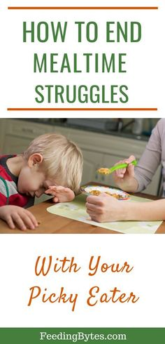 How to end mealtime struggles with your picky eater - why you should not stress over the details during your child's mealtime, and what you can do about it. From Feeding Bytes. Picky Toddler Meals, Kids Meals, Toddler Food, Foods For Picky Toddlers, Toddler Dinners, Toddler Lunches, Watermelon Nutrition Facts, Picky Eaters Kids, Fussy Eaters Toddlers