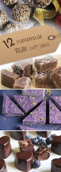Homemade Vegan Edible Gift Ideas from Trinity's Kitchen...