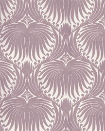 "Farrow & ball ""Lotus"" wallpaper: via Lonny mag"