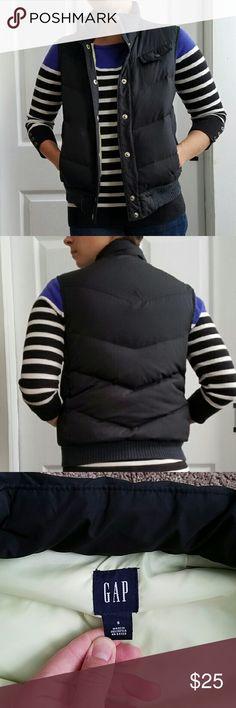 Spotted while shopping on Poshmark: *NEW LISTING* Down Vest! #poshmark #fashion #shopping #style #GAP #Jackets & Blazers