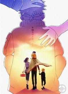 Hinata Hyuuga, Himawari Uzumaki, Naruto Uzumaki and Boruto Uzumaki~Naruto Naruto Uzumaki Shippuden, Naruto Shippuden Sasuke, Naruto Kakashi, Anime Naruto, Naruto Cute, Manga Anime, Gaara, Hinata Hyuga, Minato Kushina