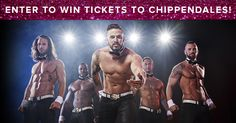 Enter for a chance to win a pair of tickets to see Chippendales LIVE in Las Vegas at The Rio or on their 2018 U.S. Tour kicking off this January! 5 Winners will be chosen—good luck!