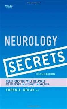Free medical books pulmonary respiratory therapy secrets 3rd ed neurology secrets elsevier ebook fandeluxe Image collections