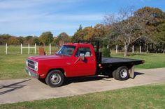dodge 1 ton flatbed | 1980 Dodge Custom 300 Pickup Truck. Red 1 Ton Dually, Flat Bed, US $ ... Flat Bed, Hot Cars, Pickup Trucks, Dodge, Monster Trucks, Texas, United States, Faith, Cabin