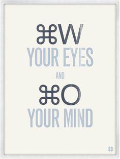 graphic design nerd humor, love it. Poster by Christopher David Ryan.