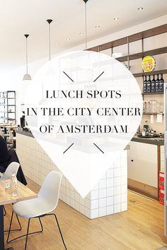 "Want to have lunch in the city center of Amsterdam? Visit http://www.yourlittleblackbook.me to check out the list with 32 lunch hotspots, cafes, and bars. Planning a trip to Amsterdam? Check http://www.yourlittleblackbook.me & download ""The Amsterdam City Guide app"" for Android & iOs with over 550 hotspots: https://itunes.apple.com/us/app/amsterdam-cityguide-yourlbb/id1066913884?mt=8 or https://play.google.com/store/apps/details?id=com.app.r3914JB"