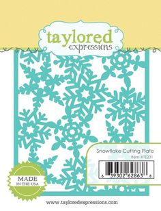 Taylored Expressions - Die - Snowflake Cutting Plate