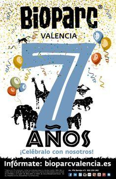 """BIOPARC Valencia cumple 7 años y lo celebra """"como los niños"""" - http://www.valenciablog.com/bioparc-valencia-cumple-7-anos-y-lo-celebra-como-los-ninos/"""