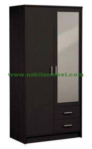 11 Top Lemari 2 Pintu Images Closets Wood Bedrooms