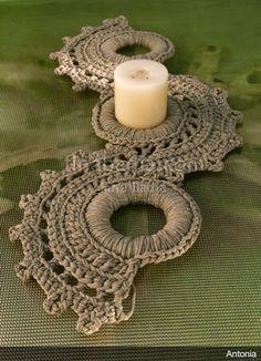 Fine Badia knit studio – My Wedding Dream Crochet Doily Rug, Crochet Rings, Crochet Diy, Crochet Motifs, Crochet Bracelet, Crochet Home, Love Crochet, Crochet Crafts, Crochet Projects