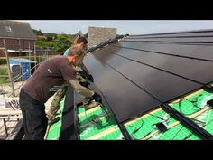 Zo gemakkelijk plaats je indak zonnepanelen! - YouTube