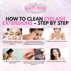 Whether you just had an eyelash extension or are planning to have one in the future, the proper way of cleaning it is one of the firsts that you should know! Good thing, there's a step-by-step procedure! Check this out!