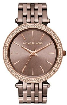 Love the color!  Michael Kors Watch