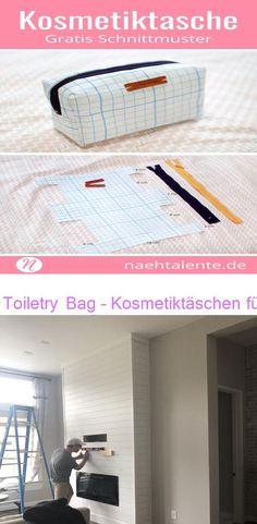 Toiletry Bag – Kosmetiktäschen für Make up und Beauty Installation eines Kamins + Unser neuer Samsung-Rahmenfernseher - The Blooming Nest Fanni Stitch, Up, Beauty, Beauty Illustration