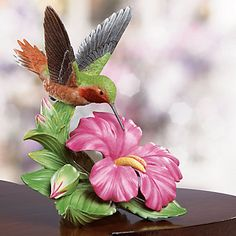 Allen's Hummingbird Figurine by Lenox