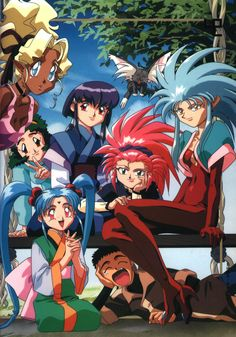 Tenchi Muyo - The first anime I ever watched